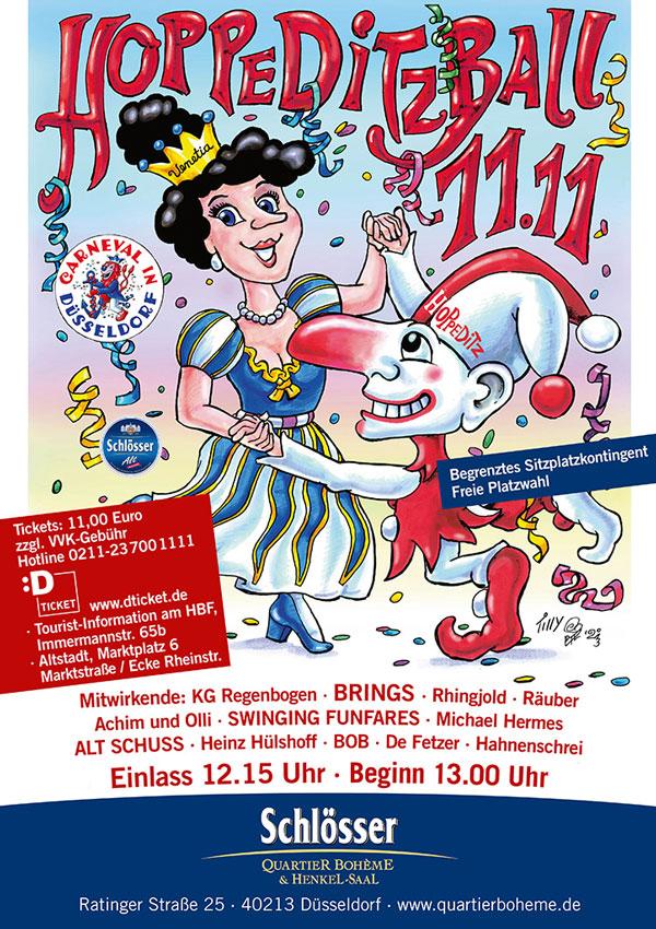 Hoppeditz Ball 2015/16 im Schlösser Quartier Bohème